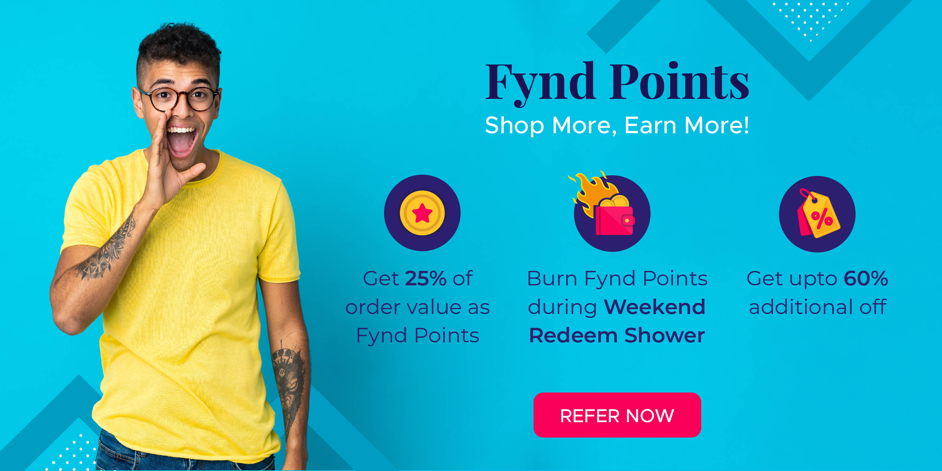 Fynd Refer and Earn