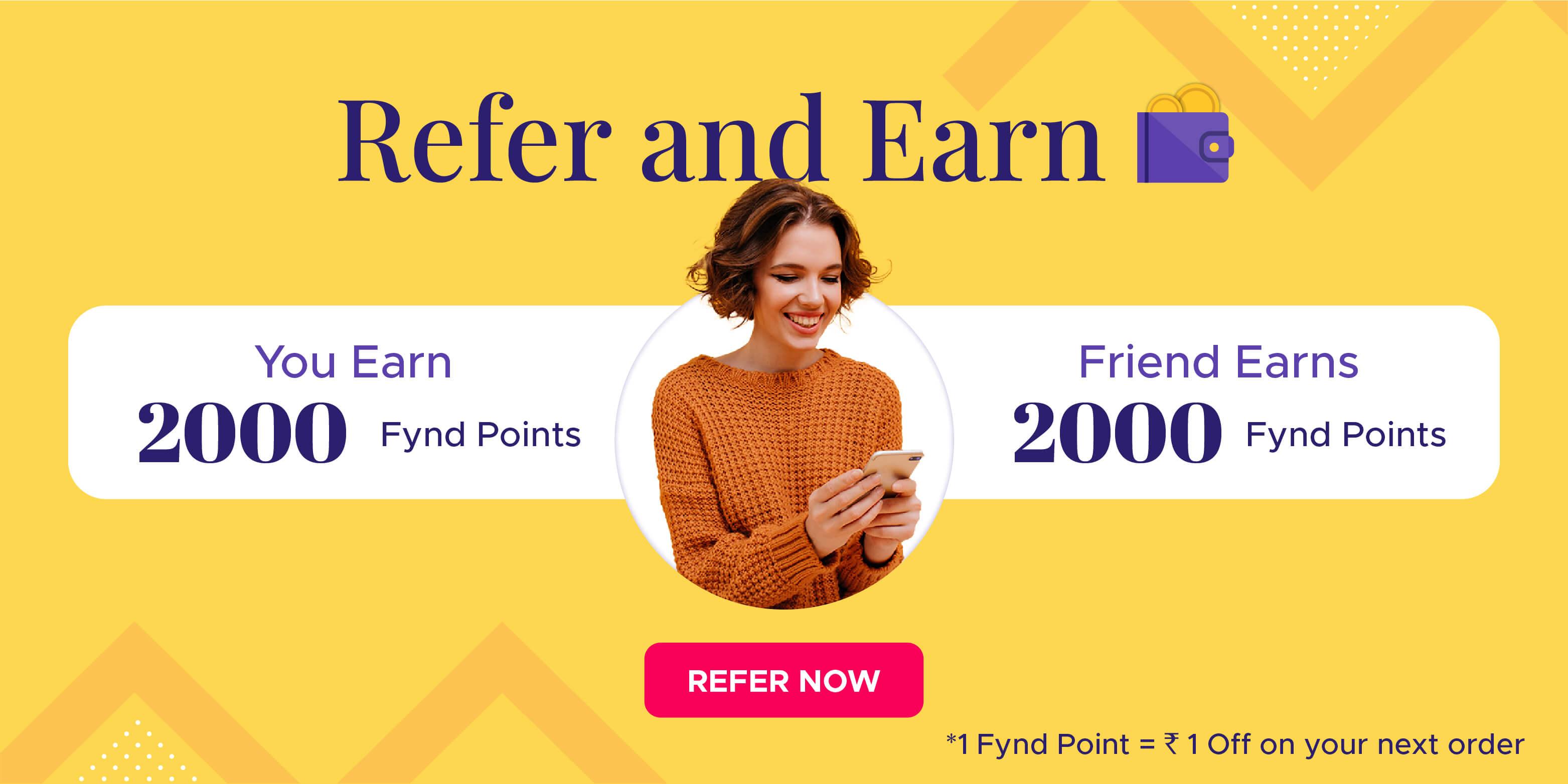 Fynd Refer and Earn Program