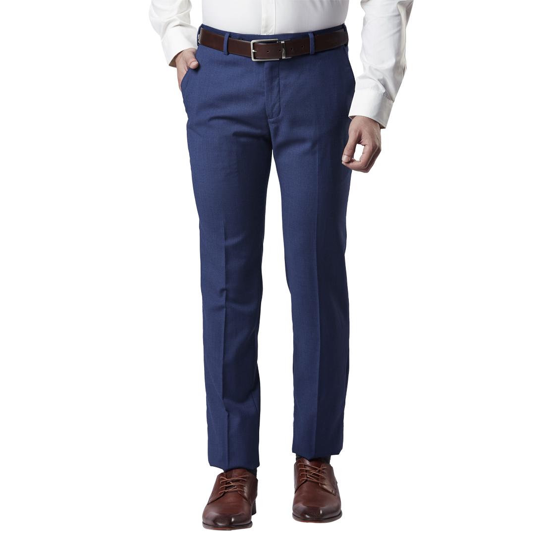 Raymond | Raymond Blue Trousers