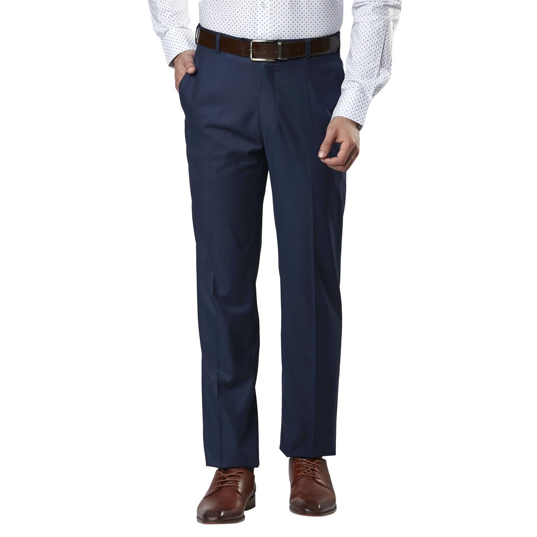 Raymond | Raymond Blue Formal Trouser