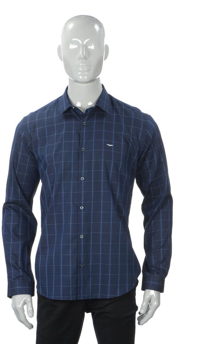 Park Avenue   Park Avenue Blue Shirt