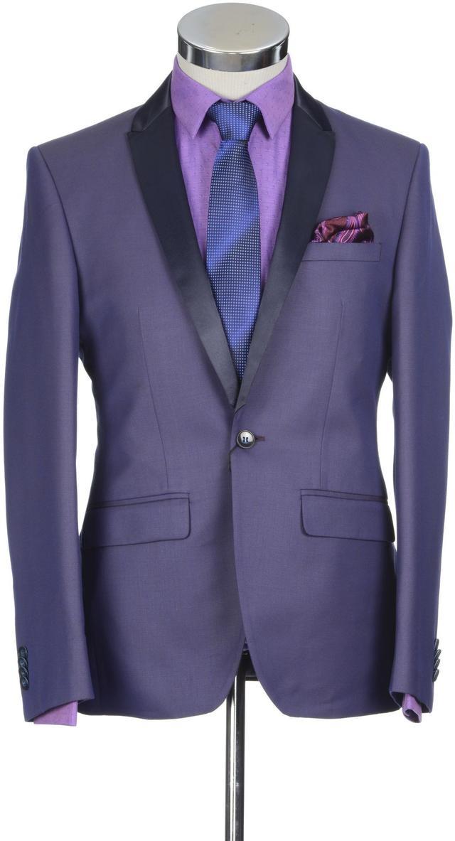 Park Avenue | Park Avenue Medium Brown Regular Fit Suits