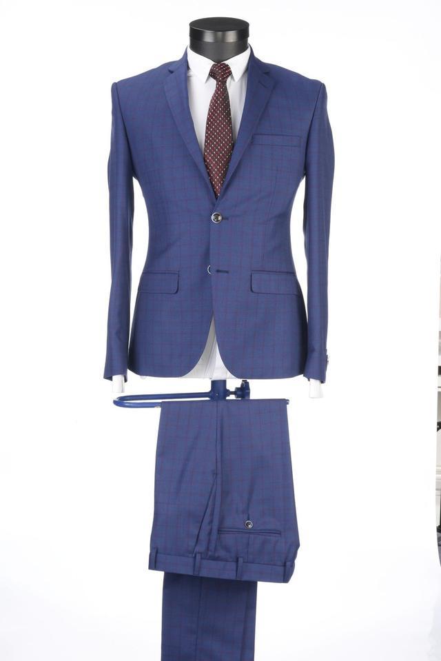 Park Avenue   Park Avenue Medium Blue Suit