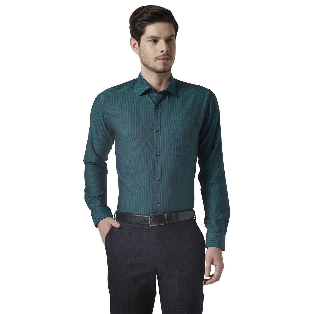 Park Avenue   Park Avenue Green Shirt