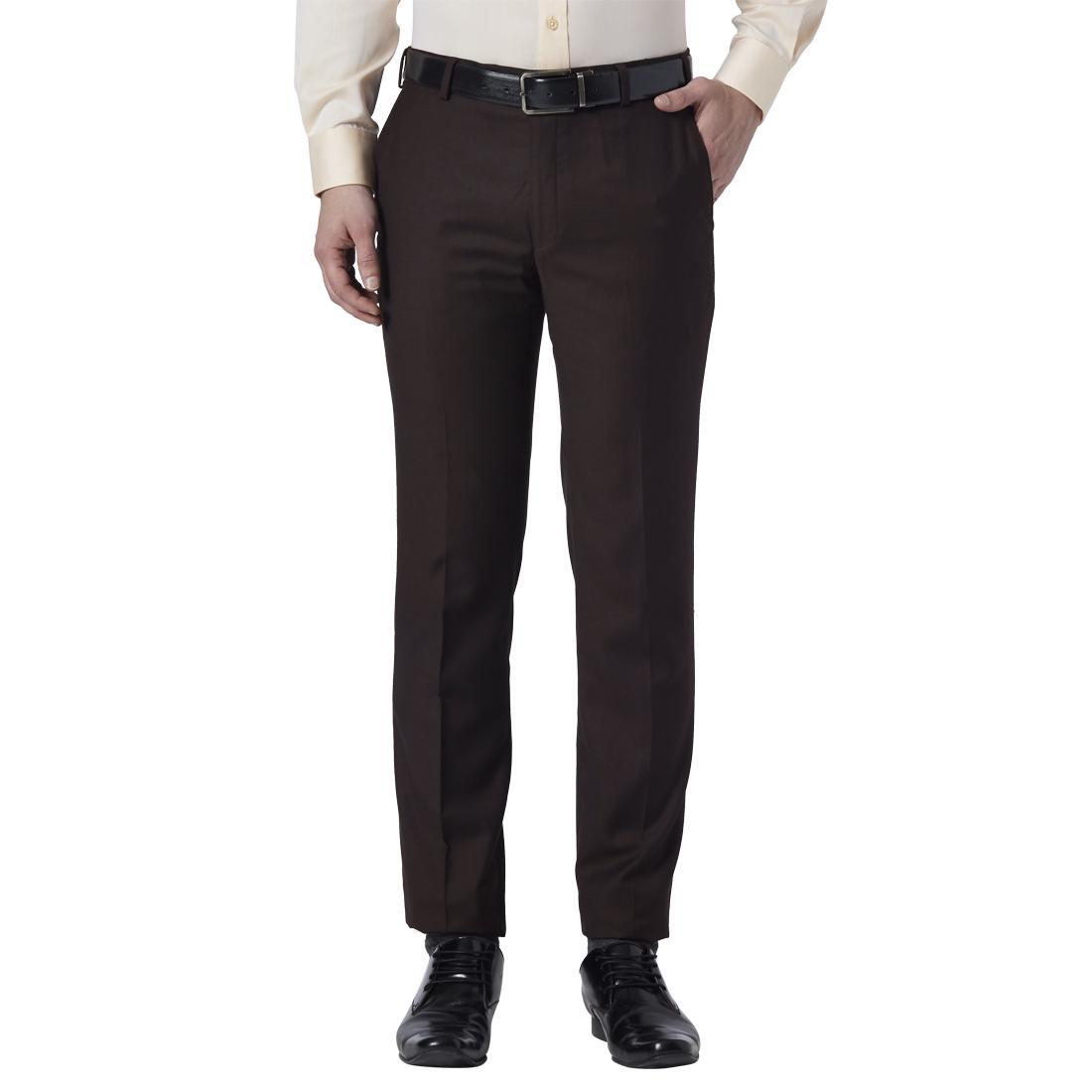 Park Avenue | Park Avenue Brown Trouser