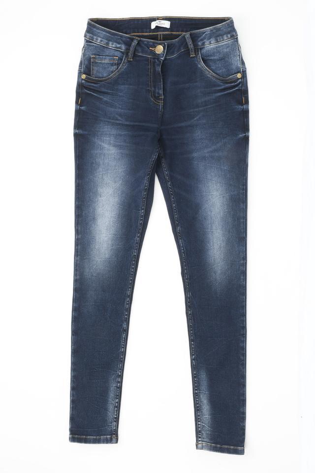 Park Avenue   Park Avenue Dark Blue Jeans
