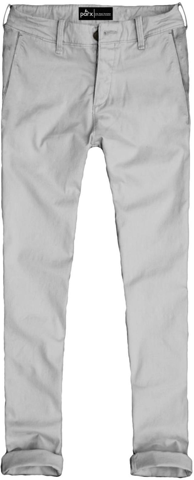 PARX | XMTT02727W1 White Formal Trousers