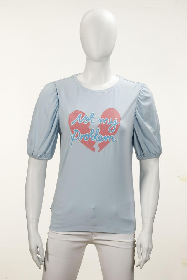 PARX | Parx Woman Light Blue T-Shirt