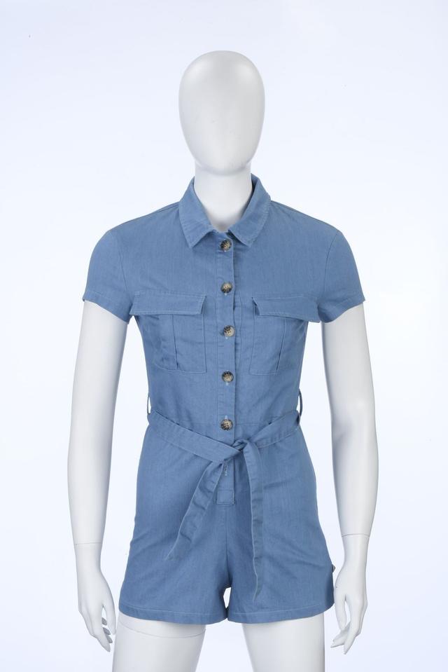 PARX   Parx Woman Light Blue Jumpsuit