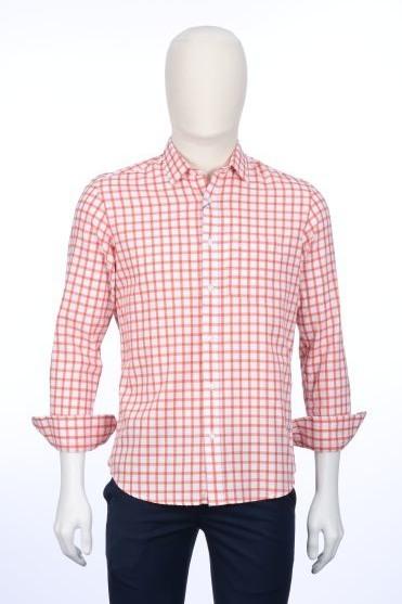 ColorPlus   ColorPlus Medium Orange Shirt