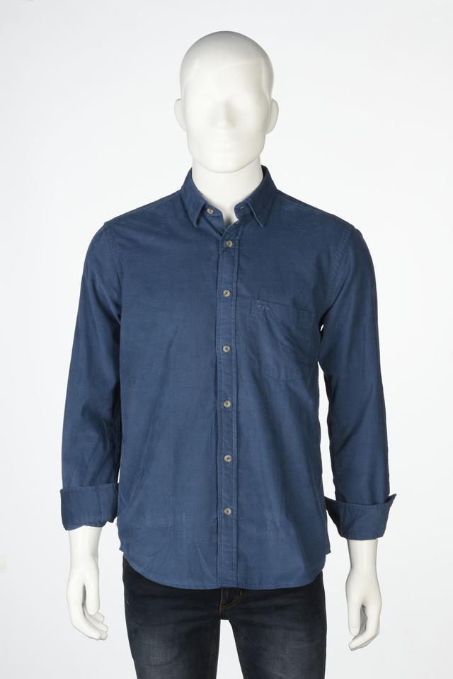 ColorPlus | ColorPlus Blue Casual Shirt