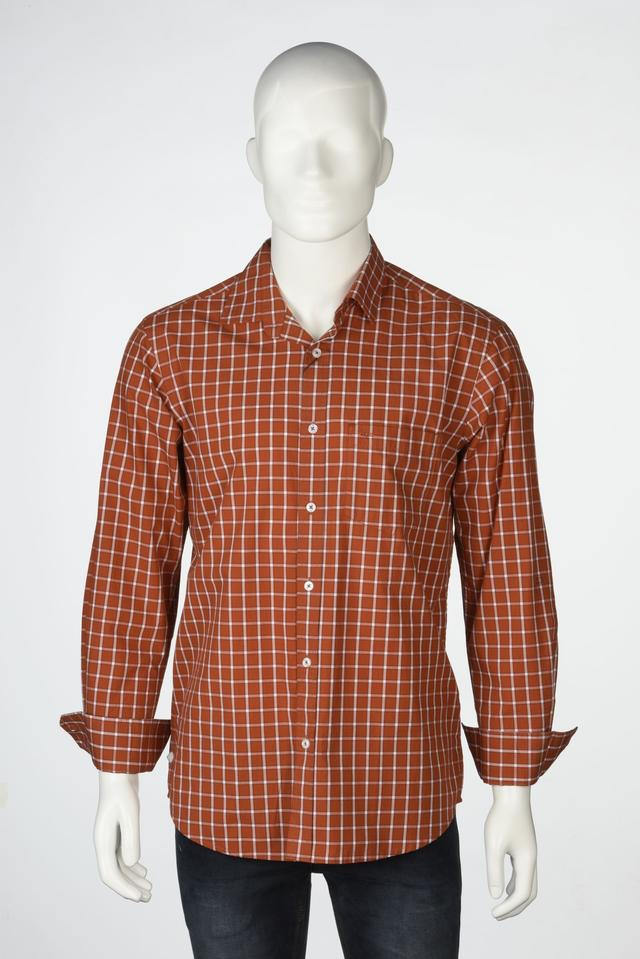 ColorPlus   ColorPlus Brown Shirts