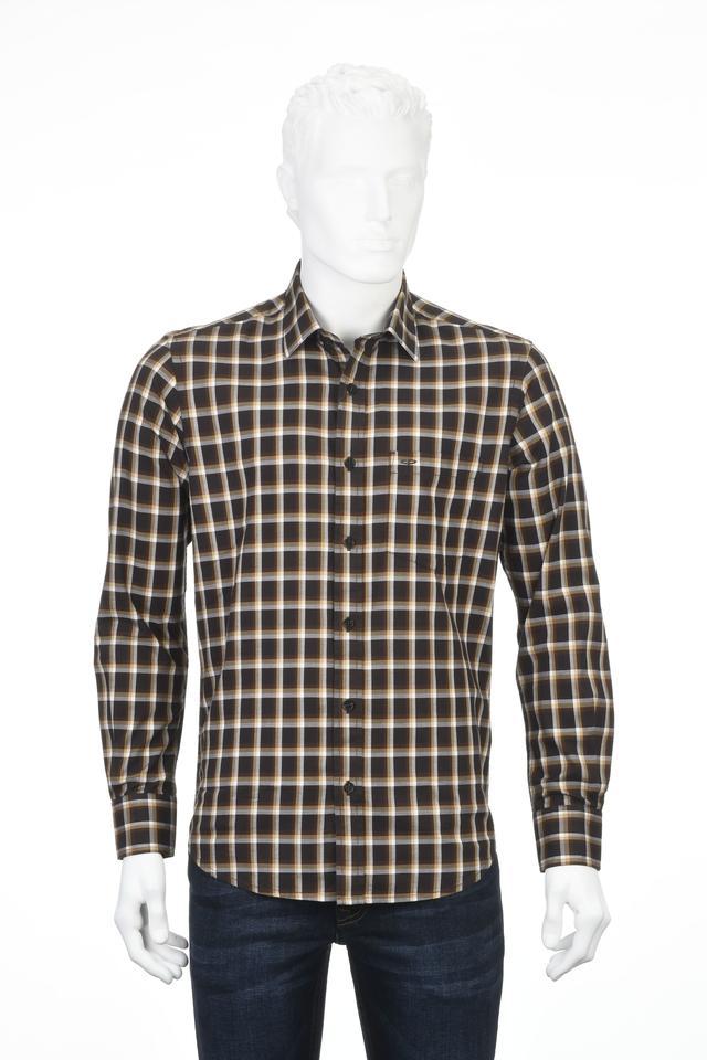 ColorPlus | ColorPlus Brown Casual Shirt