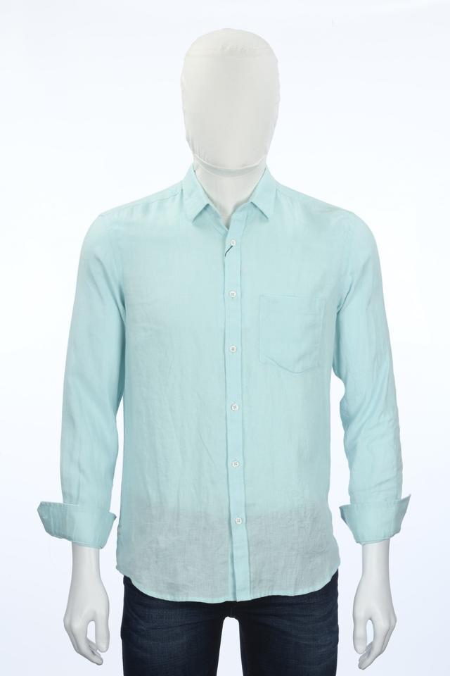 ColorPlus | ColorPlus Medium Blue Formal Shirt