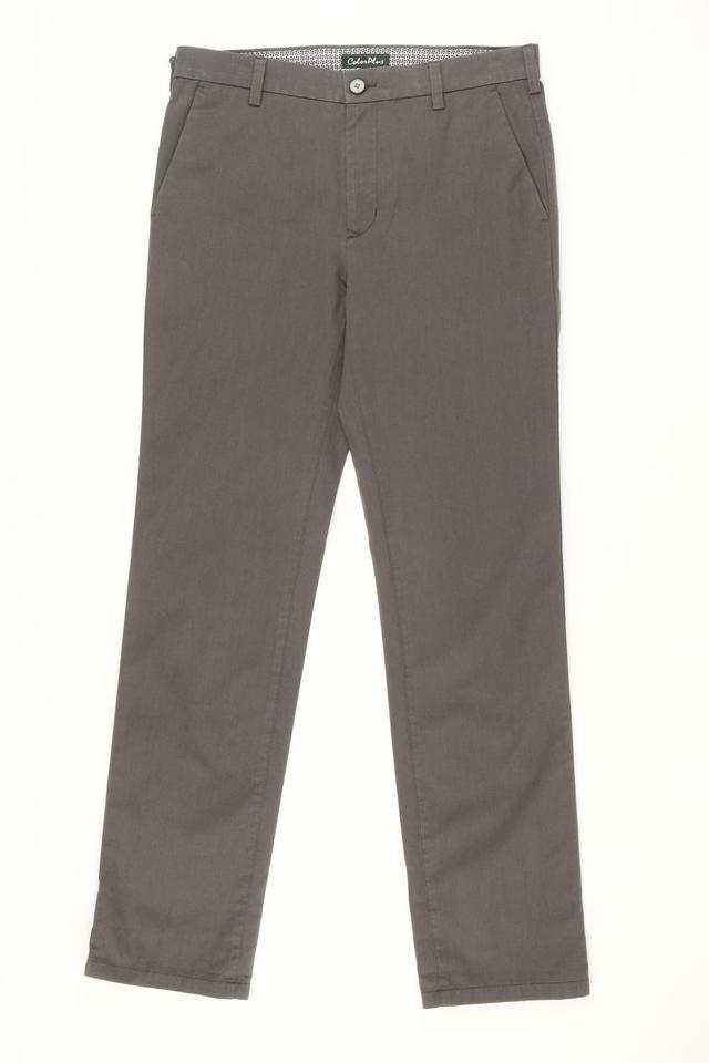 ColorPlus | ColorPlus Medium Grey Regular Fit Trouser
