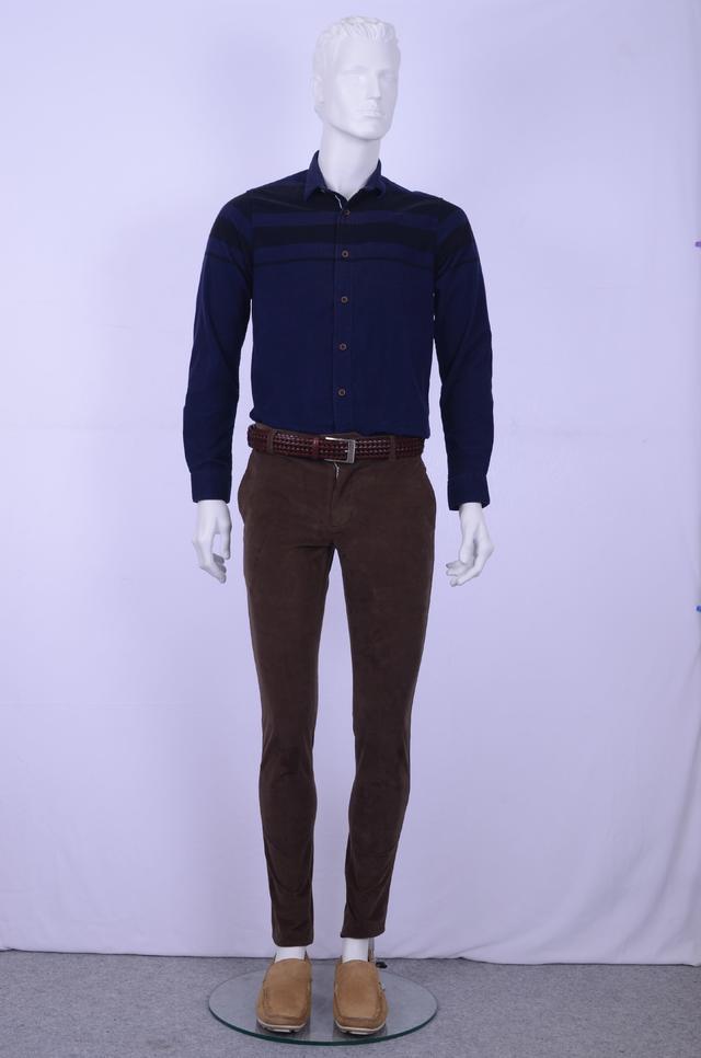 ColorPlus | ColorPlus Dark Green Regular Fit Trouser