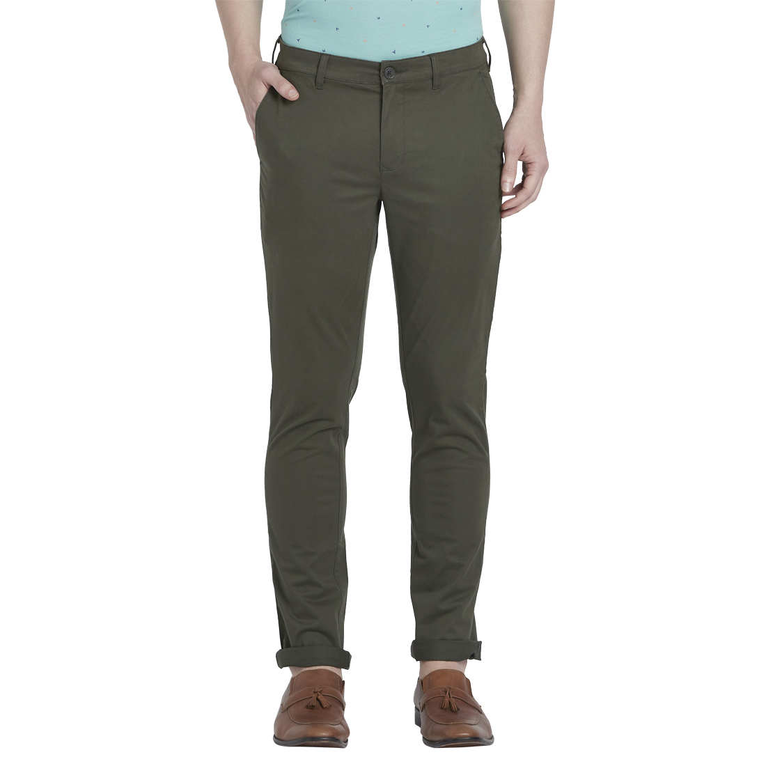 ColorPlus   ColorPlus Green Trousers