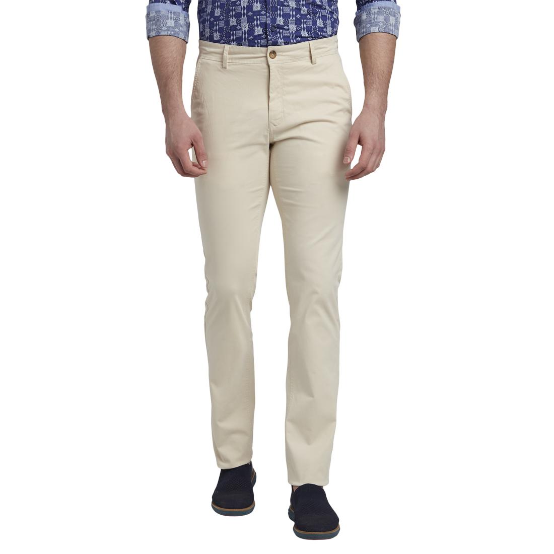 ColorPlus | ColorPlus Light Fawn Tailored Fit Trouser