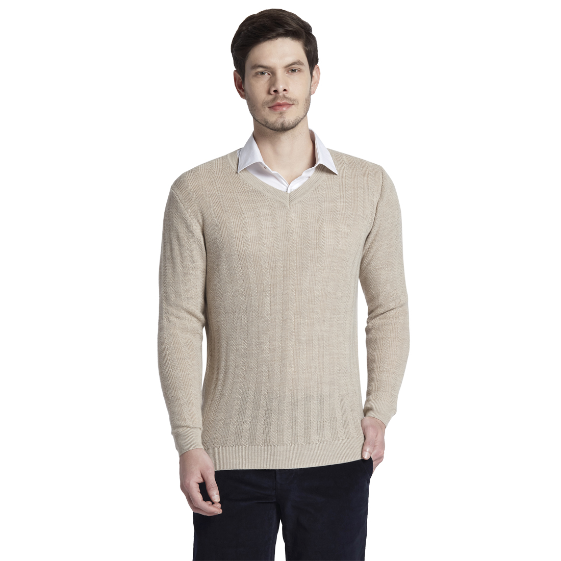 ColorPlus | ColorPlus Beige Sweaters
