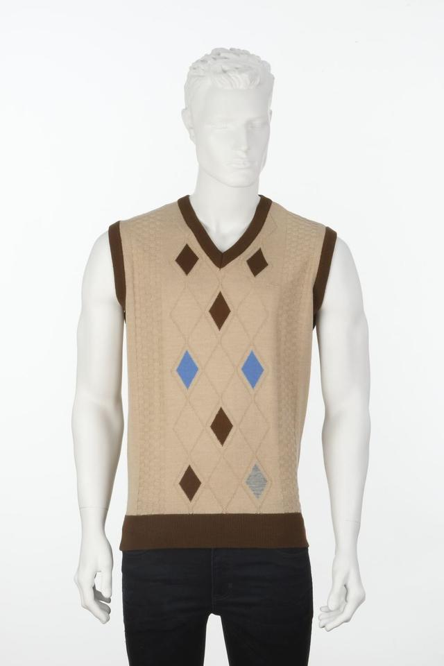 ColorPlus | ColorPlus Solid Brown Slim Fit Sweater
