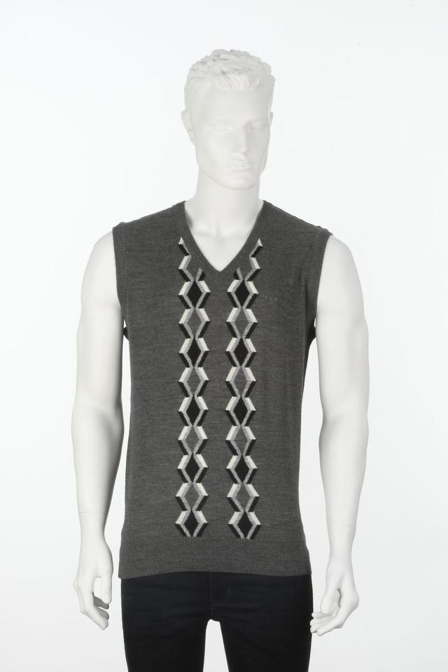 ColorPlus | ColorPlus Solid Black Slim Fit Sweater
