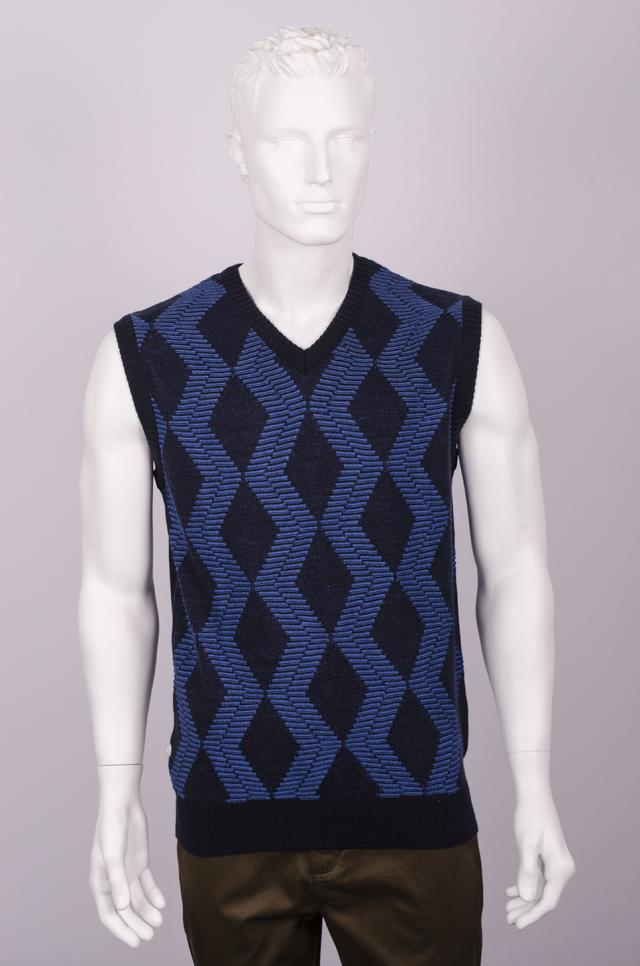 ColorPlus | ColorPlus Dark Blue Tailored Fit Sweater
