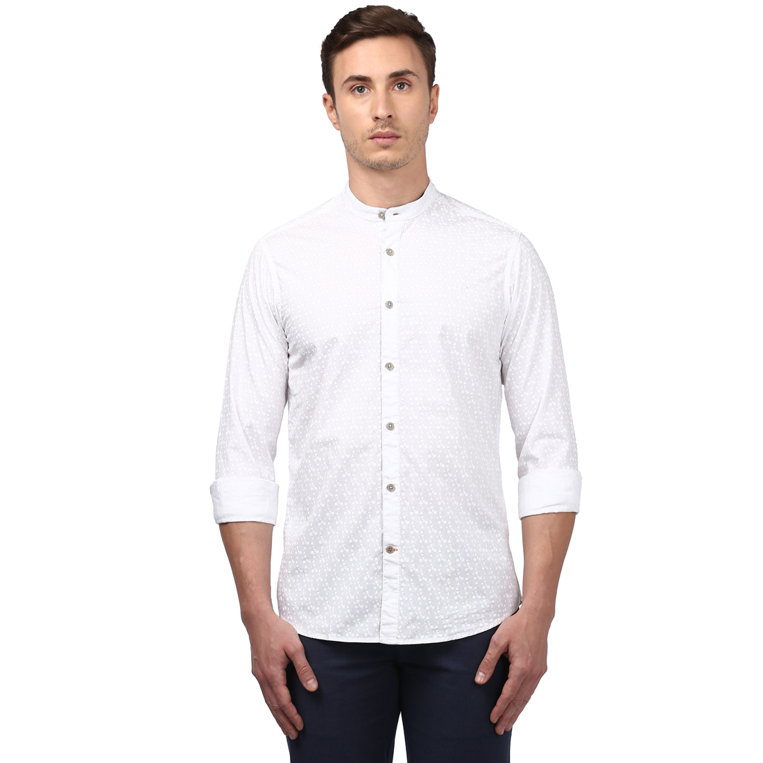 ColorPlus | ColorPlus White Regular Fit Shirts