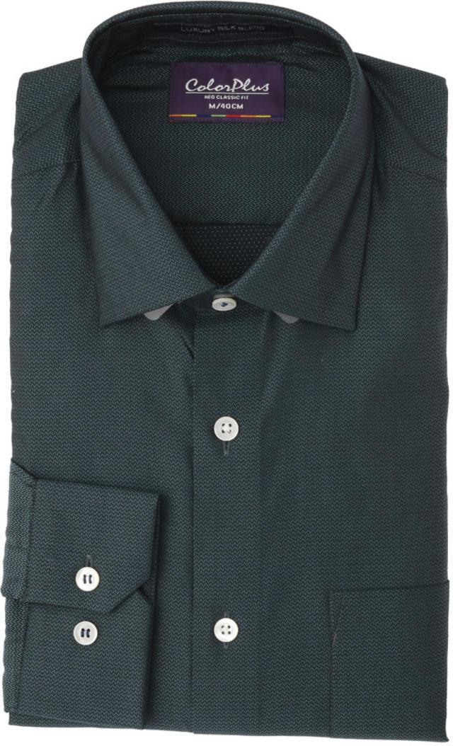 ColorPlus   ColorPlus Medium Blue Regular Fit Shirts