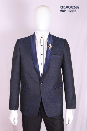 Ethnix by Raymond   ethnix by Raymond Blue Suit