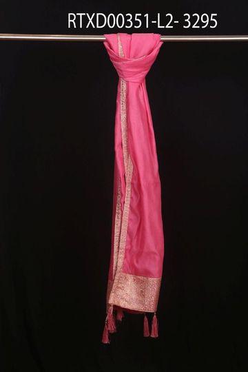 Ethnix by Raymond | Light Pink Dupatta
