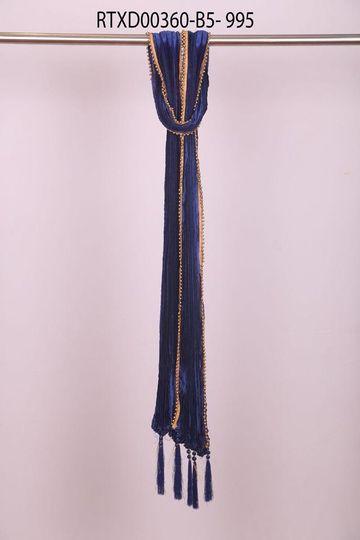 Ethnix by Raymond | Medium Blue Dupatta
