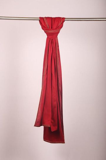 Ethnix by Raymond | Medium Red Dupatta