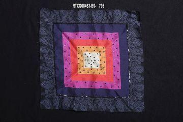 Ethnix by Raymond   Fancy Blue Pocket Square
