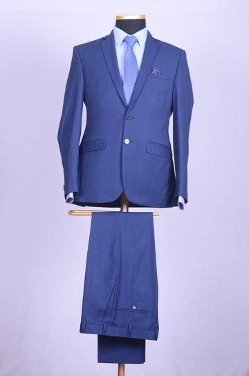 Park Avenue   Park Avenue Dark Blue Super Slim Fit Suits