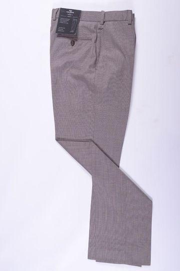 Park Avenue   Park Avenue Solid Brown Regular Fit Trousers