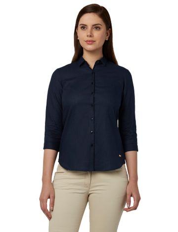 Park Avenue | Park Avenue Woman Blue Shirts