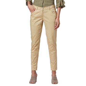Park Avenue | Park Avenue Woman Beige Trouser