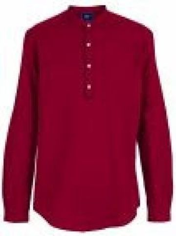 PARX   XMST08324R4 Medium Red Casual Shirt