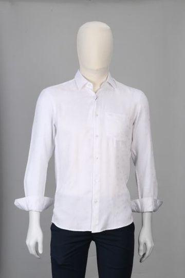 ColorPlus | ColorPlus Solid White Slim Fit Shirts