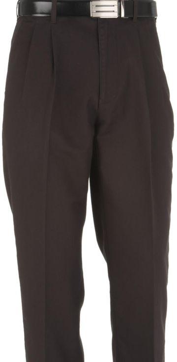 ColorPlus | ColorPlus Dark Brown Regular Fit Trouser