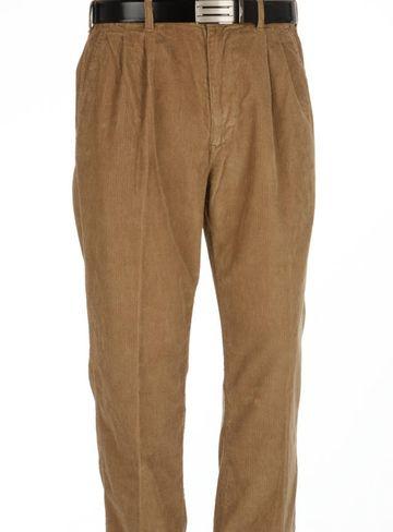 ColorPlus | ColorPlus Light Brown Regular Fit Trouser