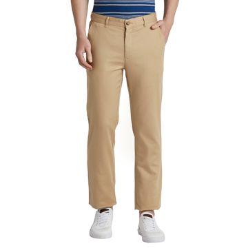 ColorPlus   ColorPlus Medium Khaki Tailored Fit Trouser