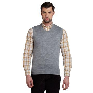 ColorPlus   ColorPlus Medium Grey Tailored Fit Sweater