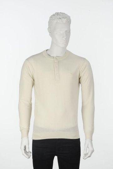 ColorPlus | ColorPlus Solid White Slim Fit Sweater