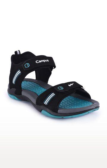 Campus Shoes | Black Hunk Sandals