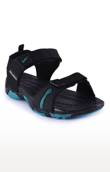 Campus Shoes | Black and Blue Sandals