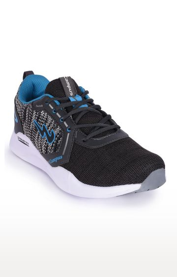 Campus Shoes | Grey Tiago-3 Running Shoes
