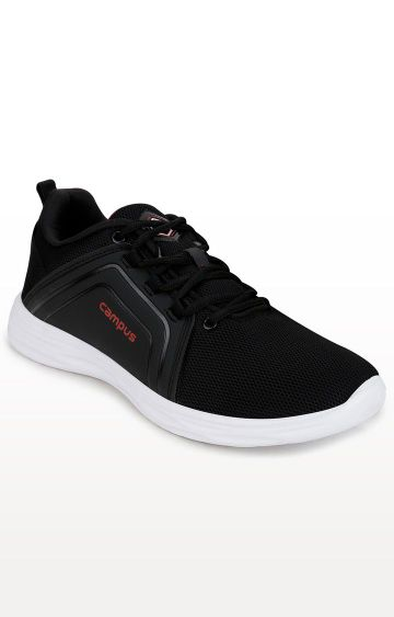 Campus Shoes | Black George Sports Shoes