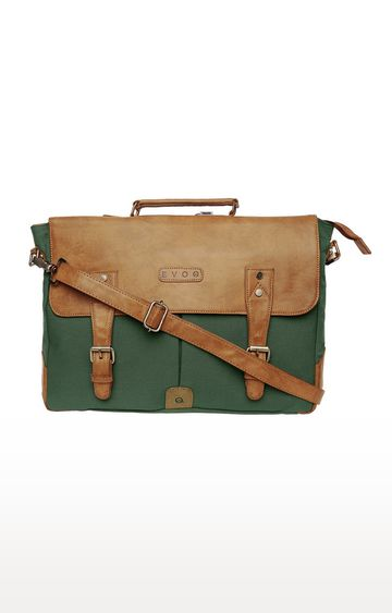 EVOQ | Green Monkey - Vegan Laptop Sling Bag