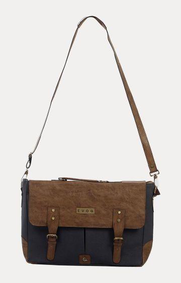 EVOQ   Blue Messenger Bag